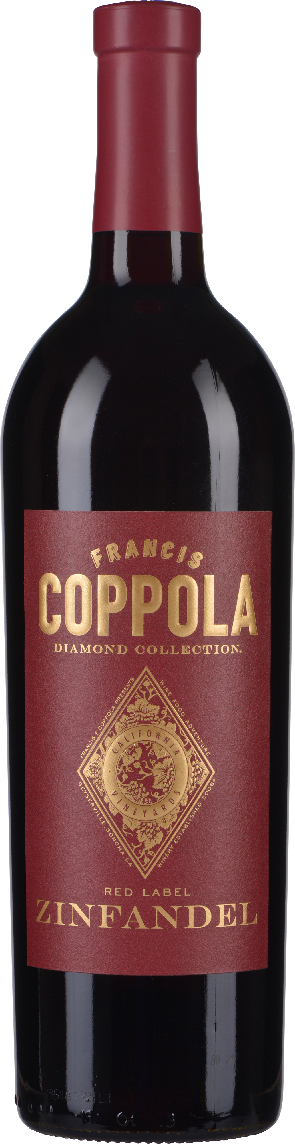 francis ford coppola zinfandel diamond 2016 wein co. Black Bedroom Furniture Sets. Home Design Ideas